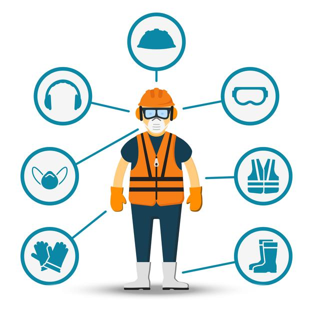 worker-health-safety-illustration-accessories-protection-Tecnova